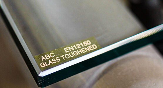 EN12150 toughened safety glass produced by abc Glass Processing